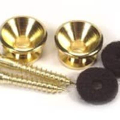 Peavey Gold Guitar Strap Buttons