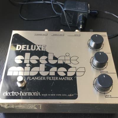 Electro-Harmonix Deluxe Electric Mistress Reissue Flanger Filter Matrix