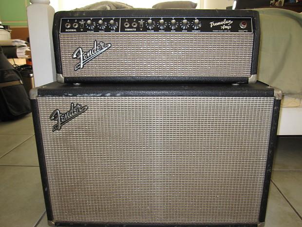 Vintage Fender Tremolux 1964 Blackface