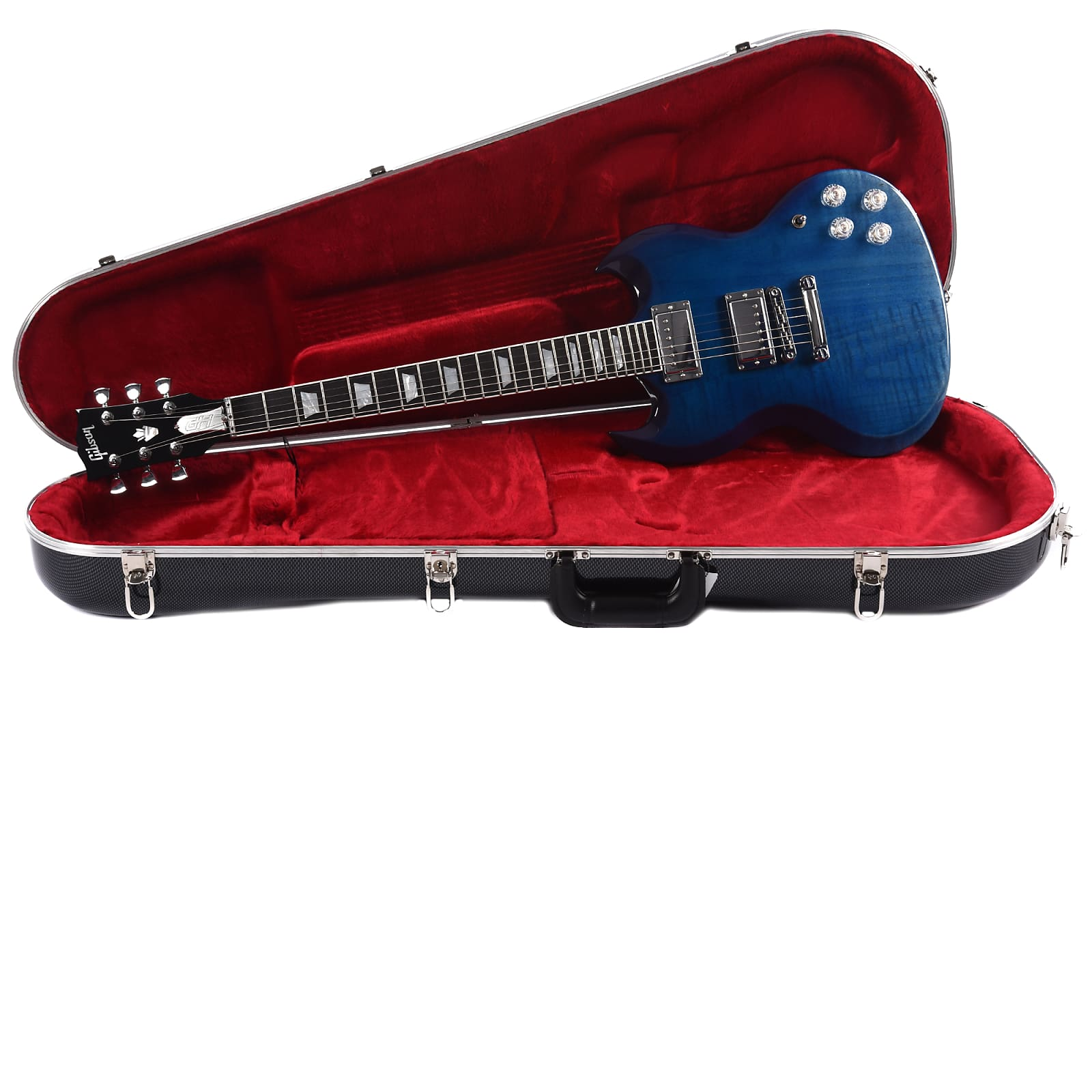 Gibson USA SG High Performance 2019 Blueberry Fade (Serial #190005141)