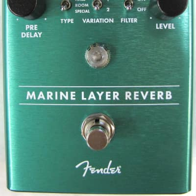 Used Fender Marine Layer Reverb Guitar Effects Pedal!