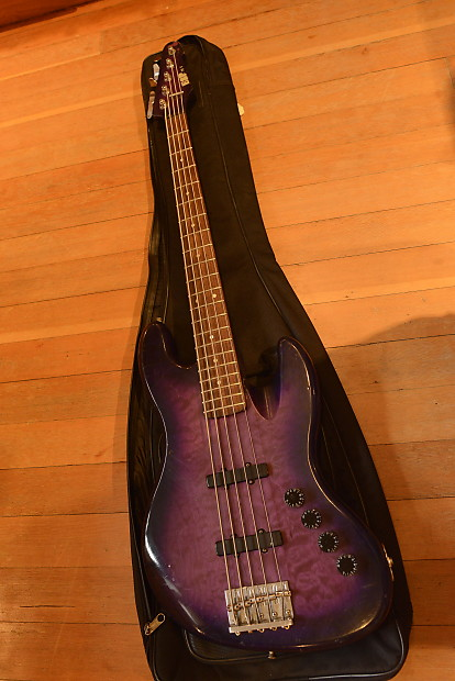 esp m v new york usa custom shop american 5 string jazz bass reverb. Black Bedroom Furniture Sets. Home Design Ideas
