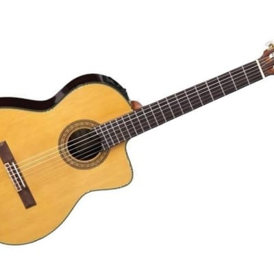 Takamine TC132SC- Classical with cutaway, CTP-3 Cool Tube electronics w/case[Display Model] for sale