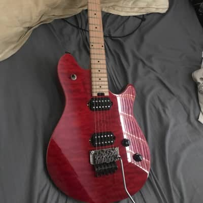 7ad31bae7cbc EVH Wolfgang Standard Quilt Maple Transparent Red