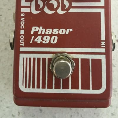 DOD Phasor 490 1980's White/Red for sale