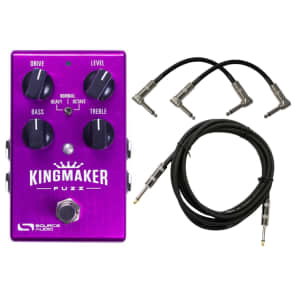 Source Audio Kingmaker Programmable Fuzz Pedal Bundle