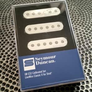 Seymour Duncan LW-CS2s LiveWire II Classic for Strat Pickup Set White