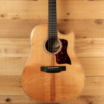 Langejans R6 w/ Bearclaw Spruce & Indian Rosewood Pre-Owned 2002 for sale