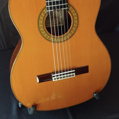 1997 Domingo Ortega Signed Brazilian Rosewood Classical Guitar for sale