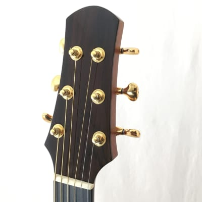 Asturias Grand Solo (38188) Small Jumbo shape /cutaway. Indian Rosewood, German Spruce, Hiscox case.