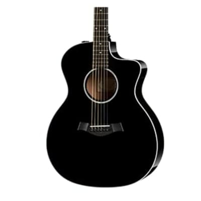 Taylor 214ce-DLX with ES2 Expression System, Black Finish