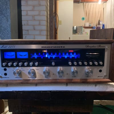 Marantz 2275 1977 Silverface, Walnut Cabinet, Fully Recapped and Restored
