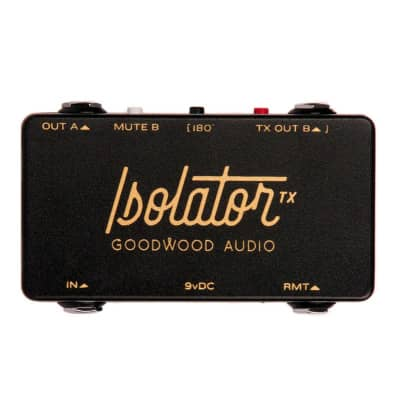 Goodwood Audio Isolator TX Pedalboard Isolated Split