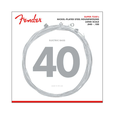 NEW Fender 7250L Bass Strings - .040-.100