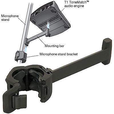 bose t1 tonematch audio engine microphone stand bracket reverb. Black Bedroom Furniture Sets. Home Design Ideas