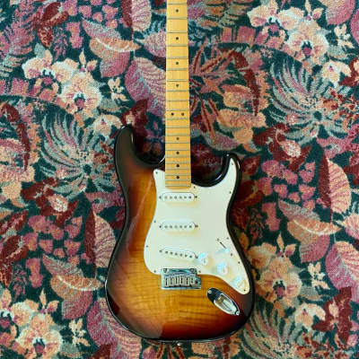 Fender Big Apple Stratocaster 1997 Sunburst for sale