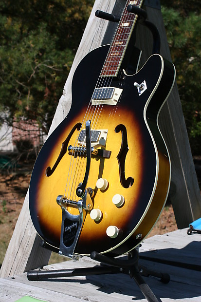 Franks Body Shop >> Harmony Rocket/Meteor 1962 Sunburst | Frank's Guitar | Reverb