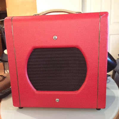 Valco Model 51 1950'S Red Tolex with Gold piping for sale