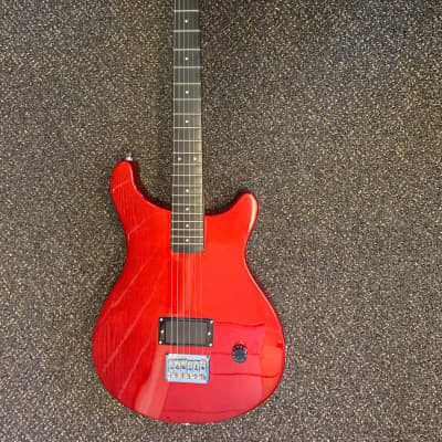 Fretlight FG-5 Beginner Electric Guitar with Built-In Lighted Learning System  Red for sale