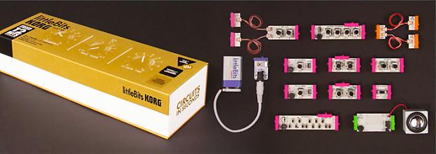 korg littlebits synth kit analog modular construction kit reverb. Black Bedroom Furniture Sets. Home Design Ideas