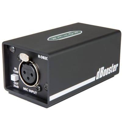 Royer R-DB20 dBooster Inline Microphone Signal Booster