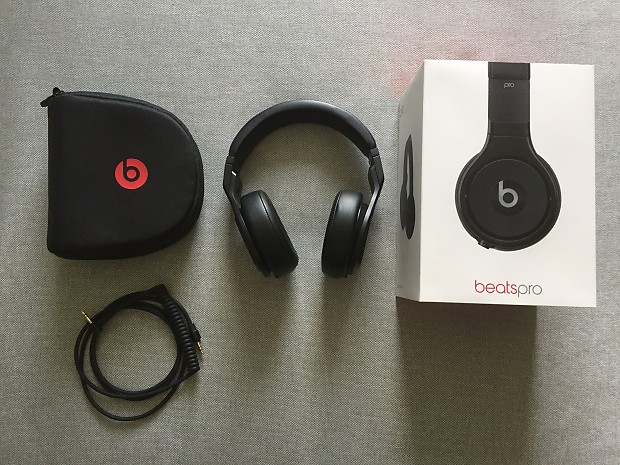 Beats by Dre Beats Pro Matte Black | Yun's Shop