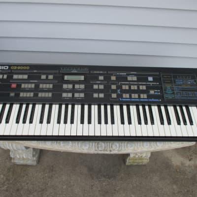Casio CZ-3000 61-Key Synthesizer with Case