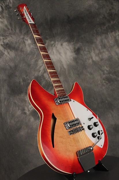 rickenbacker rare 365 os double bound 1967 fireglo