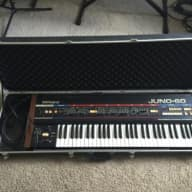 Roland Juno 60 with Case