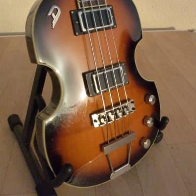 Duesenberg Violin Bass 2010 Sunburst for sale
