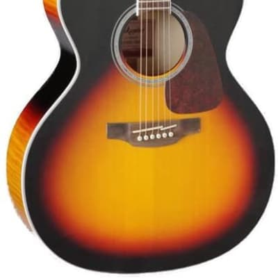 Takamine 6 String Acoustic-Electric Guitar, Right Handed, Sunburst (GJ72CE-BSB)