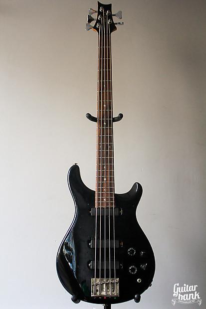 rare american vintage prs paul reed smith bass v 1989 black reverb. Black Bedroom Furniture Sets. Home Design Ideas