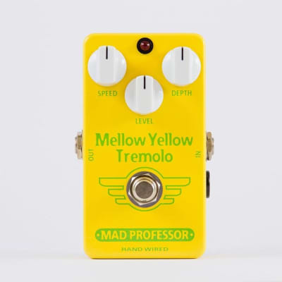 Mad Professor Mellow Yellow Tremolo Hand Wired Guitar Effects Pedal. Made in Finland for sale