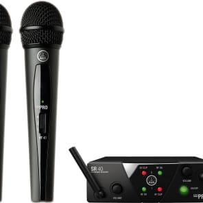 AKG WMS40 Mini 2 Dual Wireless Microphone System
