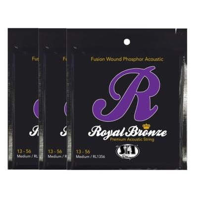 S.I.T. Strings RL1356 Royal Bronze Acoustic String - 3 PACK