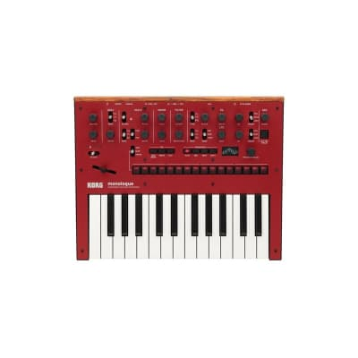 Korg Monologue Analogue Synthesizer, Red