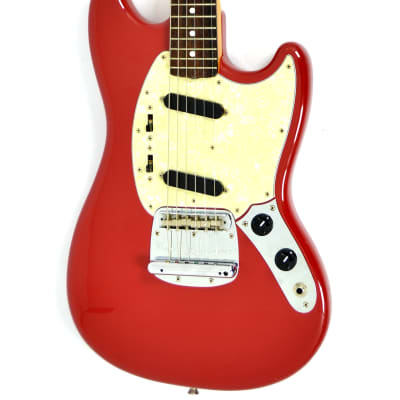 Fender MG69 MH '69 Reissue Mustang Fiesta Red for sale