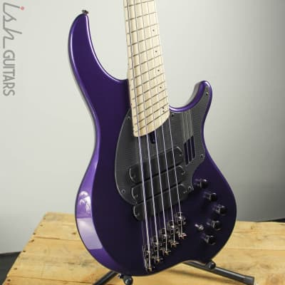 Dingwall NG3 5-String Purple Metallic Maple Fretboard for sale