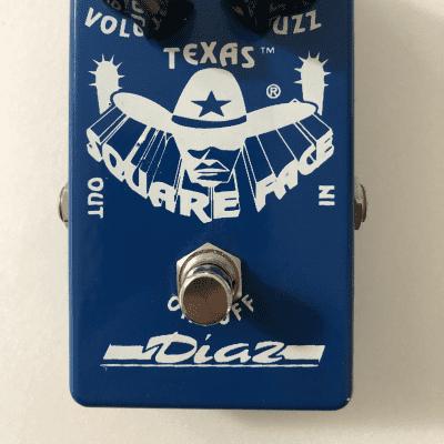 Diaz Square Face Fuzz Pedal w/Both Chip Sets, Original Box - Near Mint! for sale