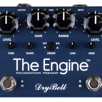 Drybell The Engine Dual Preamp Pedal - DB2438