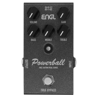 ENGL EP645 Powerball Distortion True Bypass Analog Guitar Effects Pedal