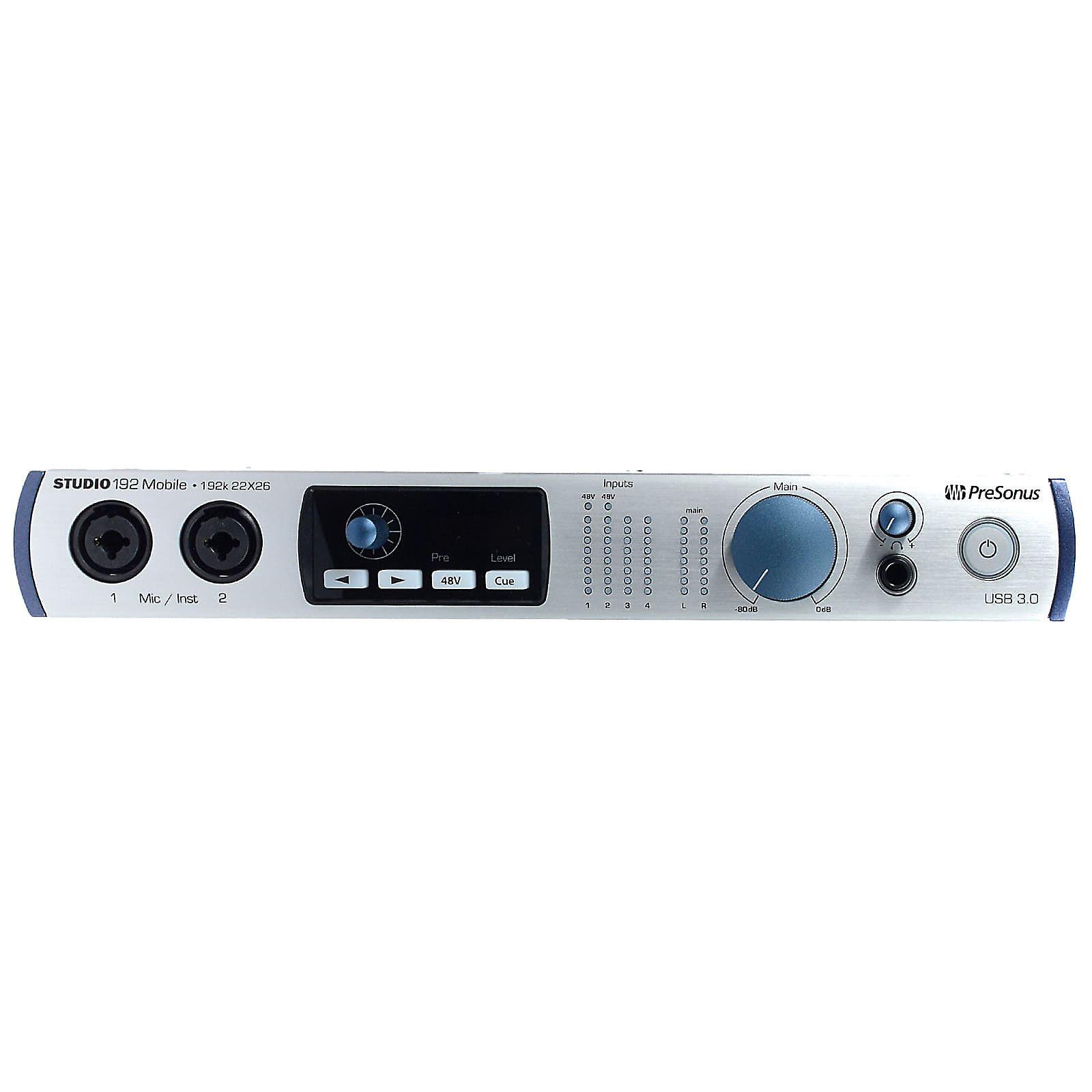 Presonus Studio 192 Mobile USB Audio Interface