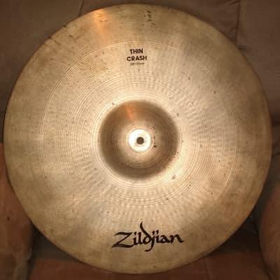"""Zildjian 20"""" A Series Thin Crash Cymbal 1982 - 2005"""