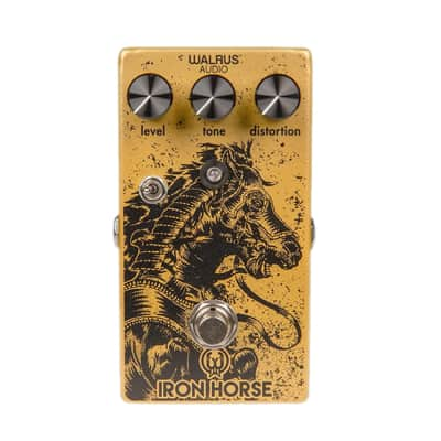 Walrus Iron Horse 2 Guitar Distortion Effect Pedal Open Box Mint
