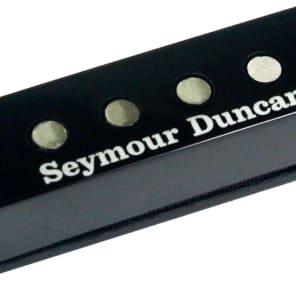 Seymour Duncan SSL-6 Custom Flat Alnico 5 Strat Pickup, Black Cover