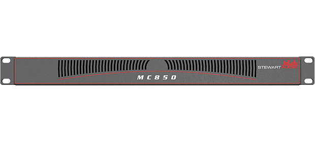Stewart Audio MC850-CV-D Amp 8-Channel Dante / AES67 Network Amplifier 50W  x 8