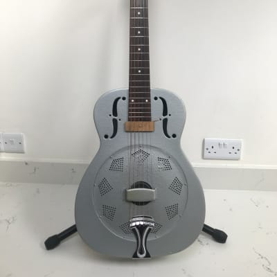 Beltona resonator guitar 1990s Silver for sale