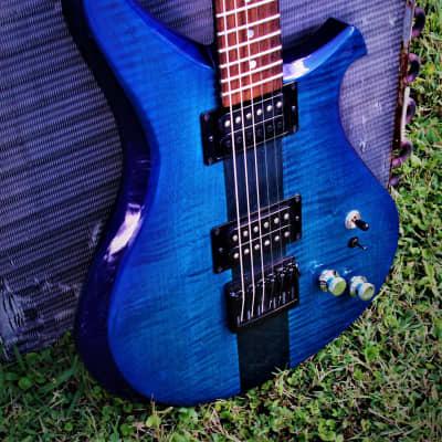 C. P. Thornton Custom Original 1990 Blue  Rare Boutique Hand Made Beautiful. Rickenbacker style. for sale