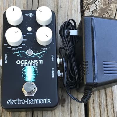 Pre-Owned Electro-Harmonix Oceans 11 Reverb Multi Effects Pedal Used