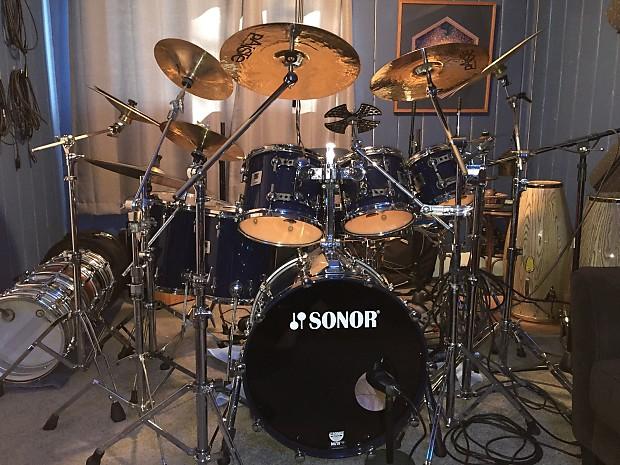 1ae97879f808 Sonor Designer Drum Set Navy Blue 8
